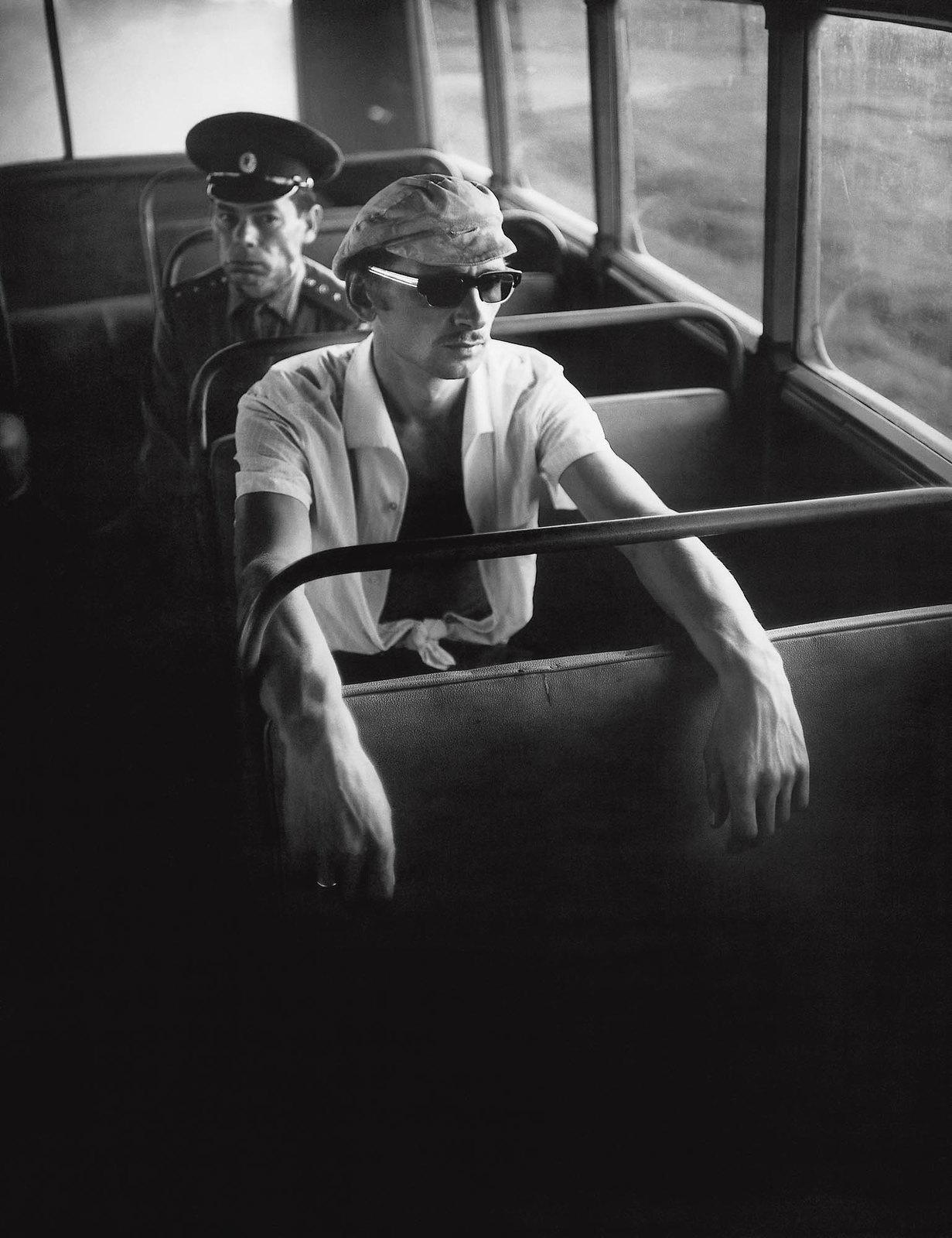 1972. Вильнюс. Утренний автобус