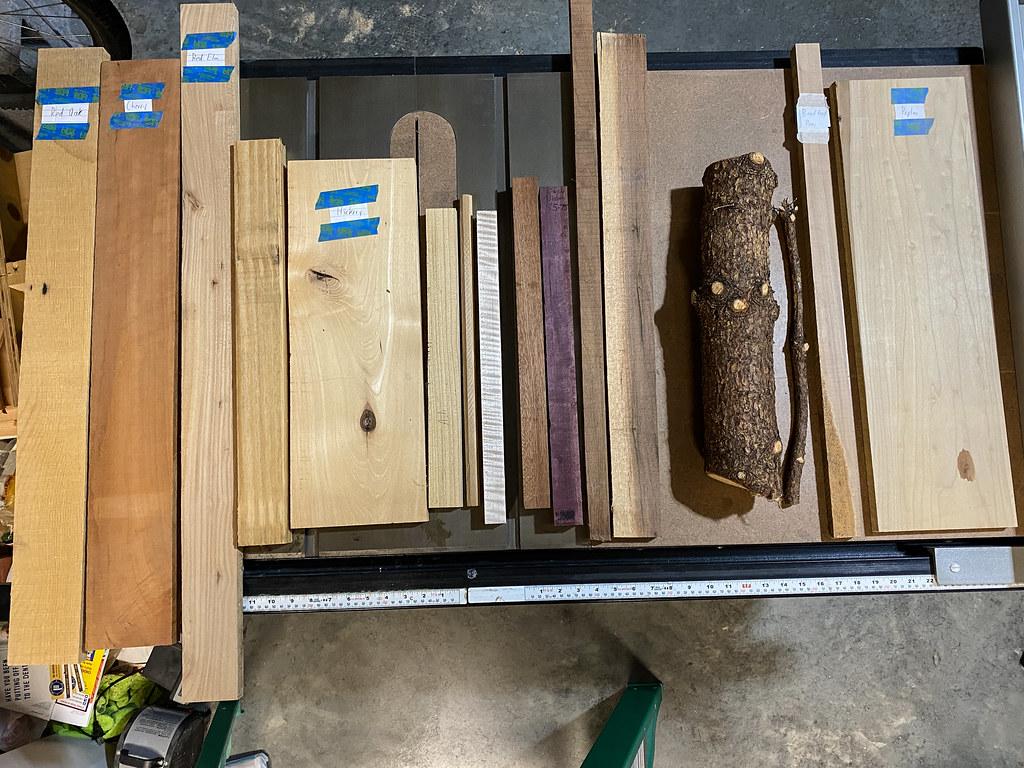 Wand wood
