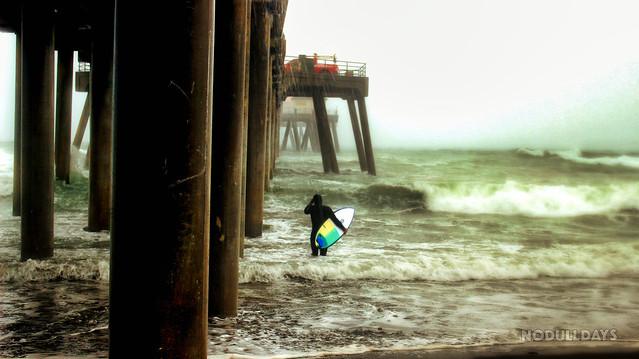 Thunderstorm Surfer — Huntington Beach, CA