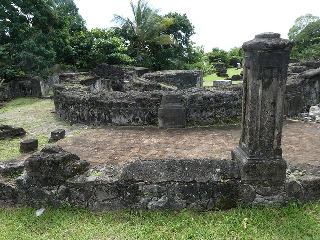 Martinique - St. Pierre Fort Church Ruins