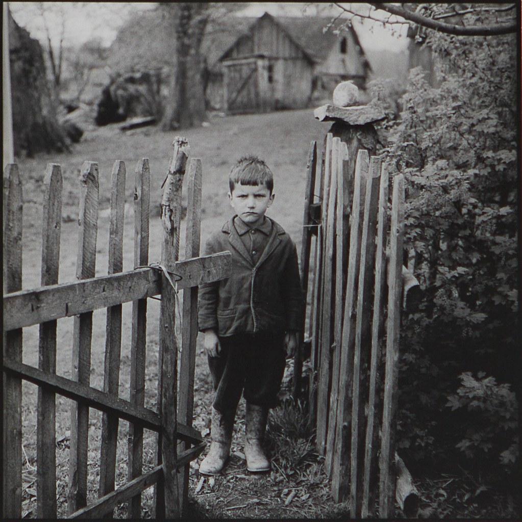 1971. Мальчик у ворот