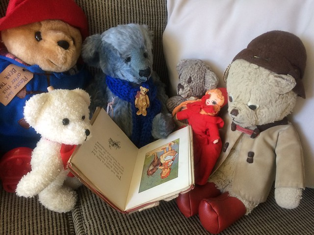 Paddington and Scout Discuss Important Matters with Jago