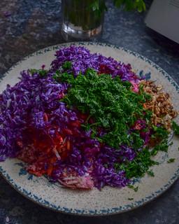 Salade d'automne arc-en-ciel (spécial lunch box) 1