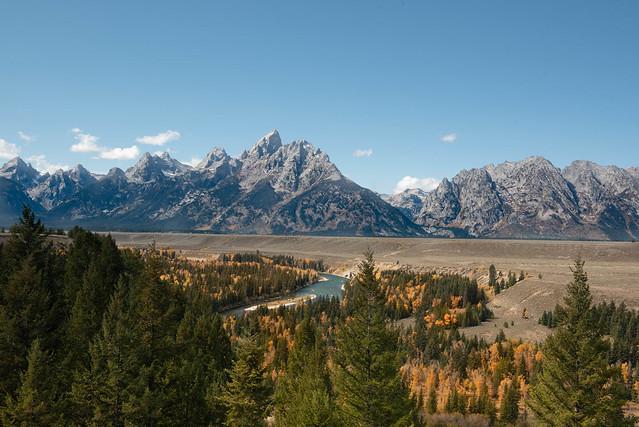 Snake River Jackson Wyoming