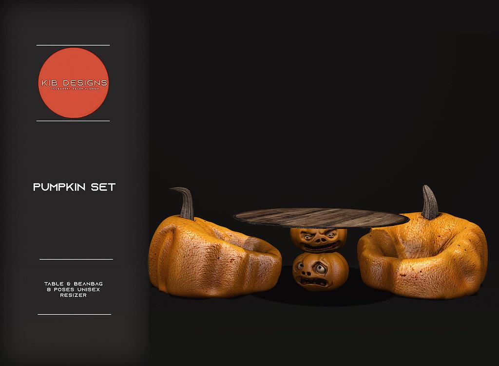 KiB Desings – Pumpkin Set @Hallow Manor
