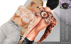 Bertie tattoo Unisex