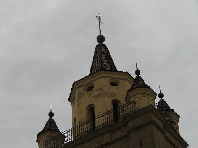 Top of the Calahorra  Cathedral Tower, Calahorra, La Rioja, Spain