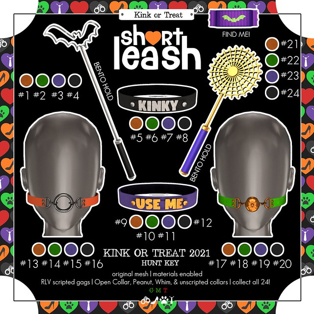 .:Short Leash:. Kink or Treat 2021