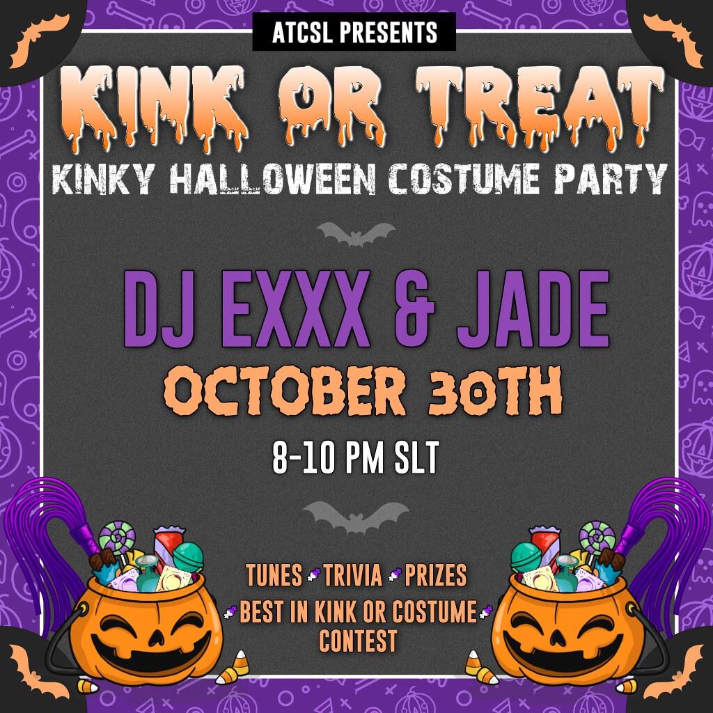 .:ATCSL:. YOU'RE INVITED! Kinky or Treat Kinky Halloween Party