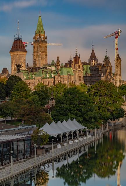 Parliament Hill. Ottawa...