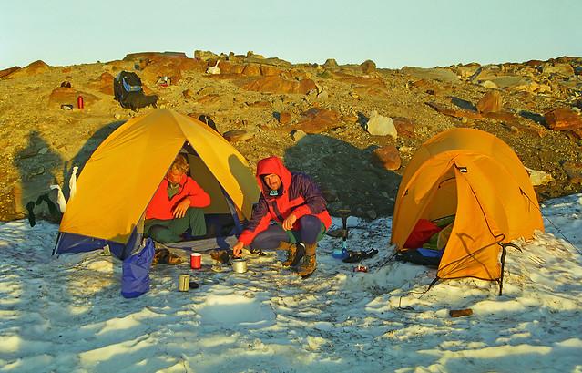 Glacier Peak Climb (10,525 ft),  South Side White Chuck Glacier Approach #2