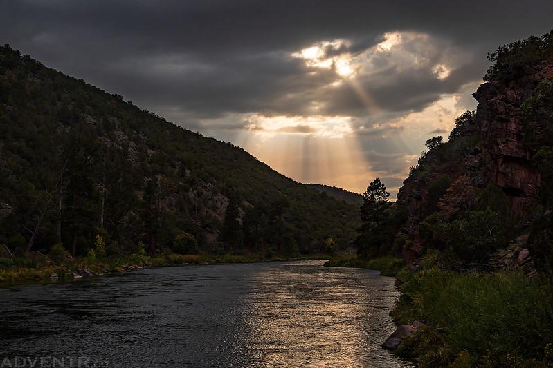 Green River Sun Rays
