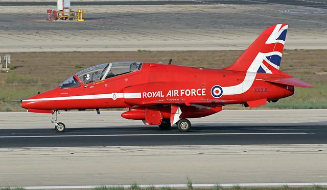 XX219 LMML 26-09-2021 United Kingdom - Royal Air Force (RAF) British Aerospace Hawk T.1A CN 312144
