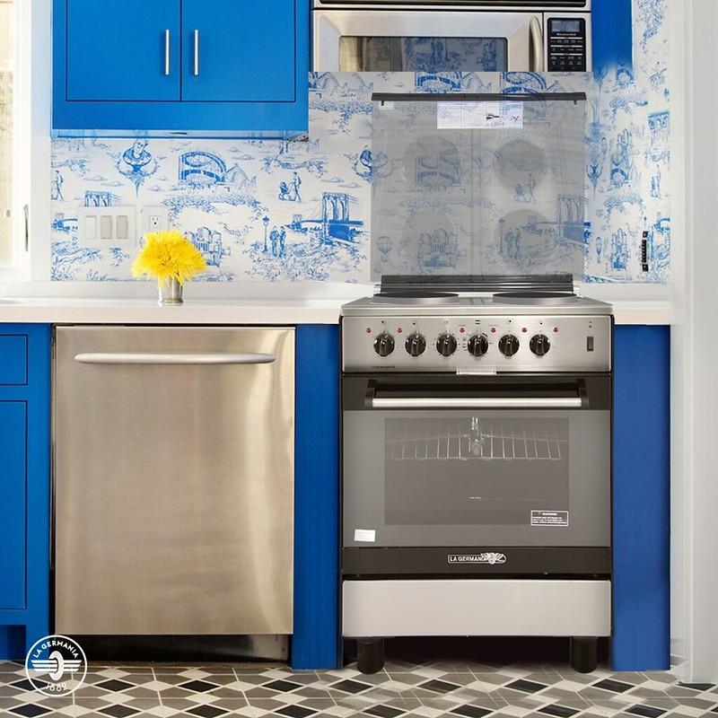 La Germania Electric Range 60cm FS6004 40XTR oven