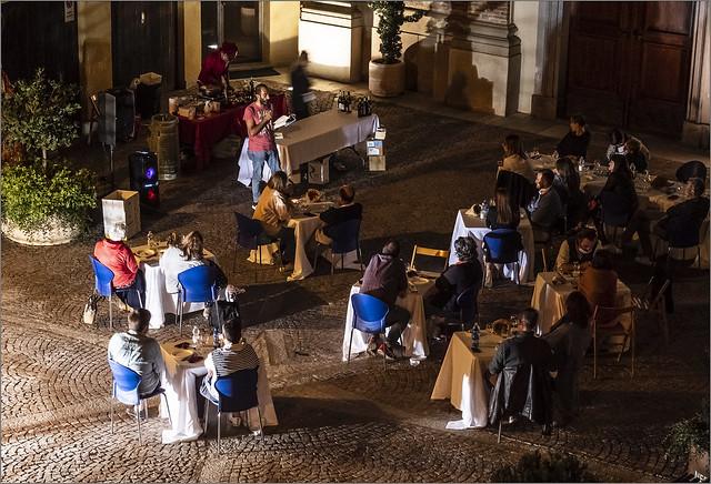 Summer night in Novello ...