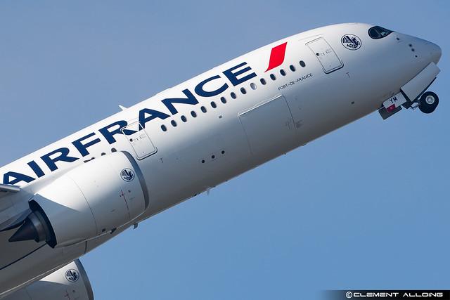 Air France Airbus A350-900 cn 520 F-WZGS // F-HTYM