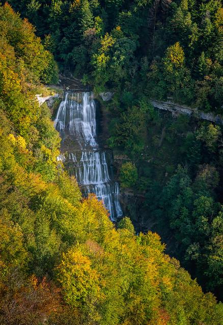 Cascades du Hérisson – L'Eventail