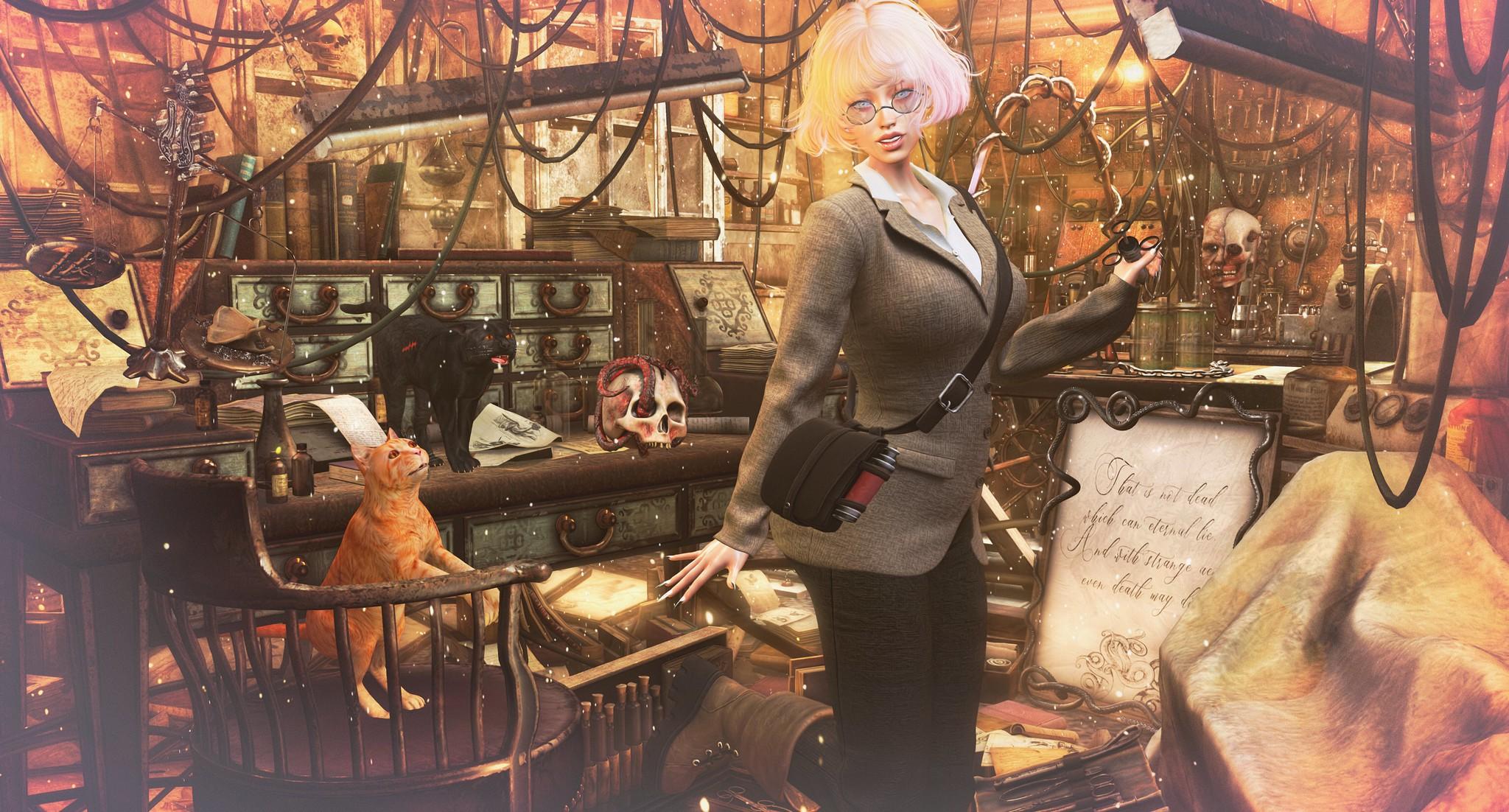 2021 1011 Chronicles & Legends - Art&Ko ++ ANTAYA ++ QE Home | DRD@Halloween Shop & Hop