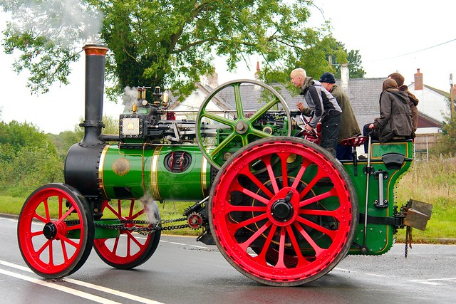 CJ7207 Ruston and Hornsby  Traction Engine built 1924