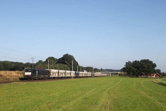 WLE 189 286 bij Püsselbüren op 3-9-2021