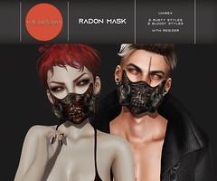 KiB Designs - Radon Mask @Hallow Manor