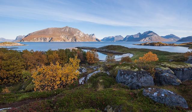 Autumn view from Håja island