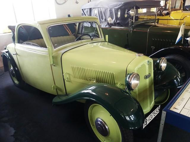 1936 DKW F5 K  Meisterklasse     Melle Automuseum 09.10.2021