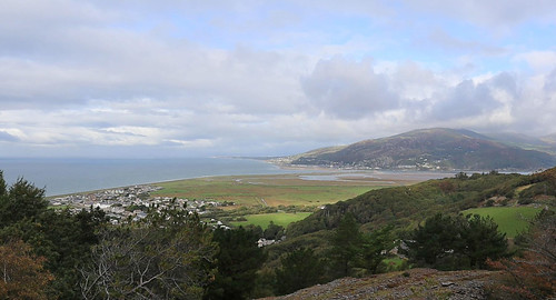Fairbourne from the disused quarry