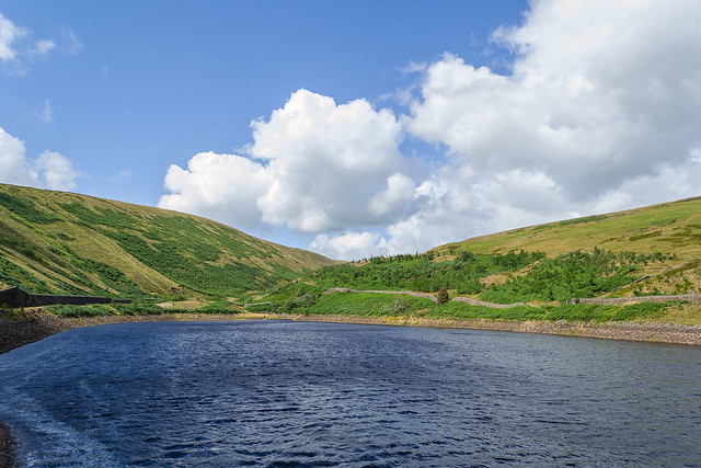 Upper Ogden reservoir , Barley , Lancashire - August 2021  Explore #64