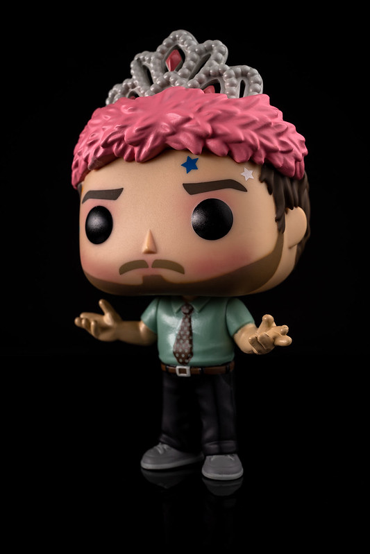 Funko Pop! Television Parks and Recreation 1147 (Andy as Princess Rainbow Sparkle)