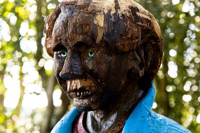 Wood Sculpture, Holt Country Park