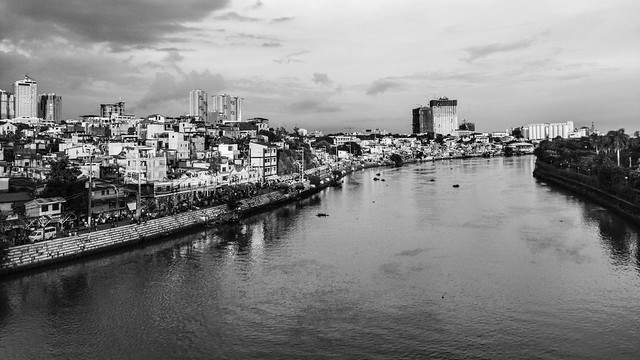 settlement along the river