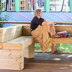 Relaxing in the Courtyard | © Roberto Ricciuti