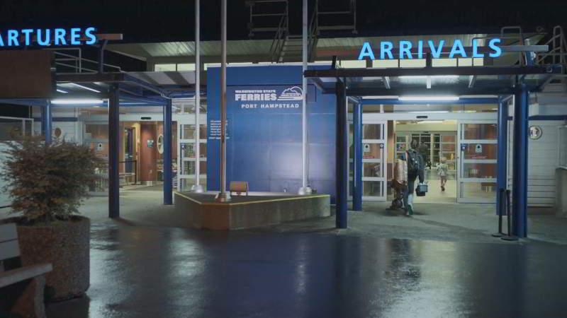 Port Hampstead Ferry terminal
