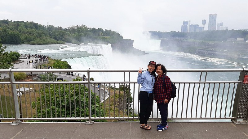 Taken from the Niagara Falls observation tower (3)