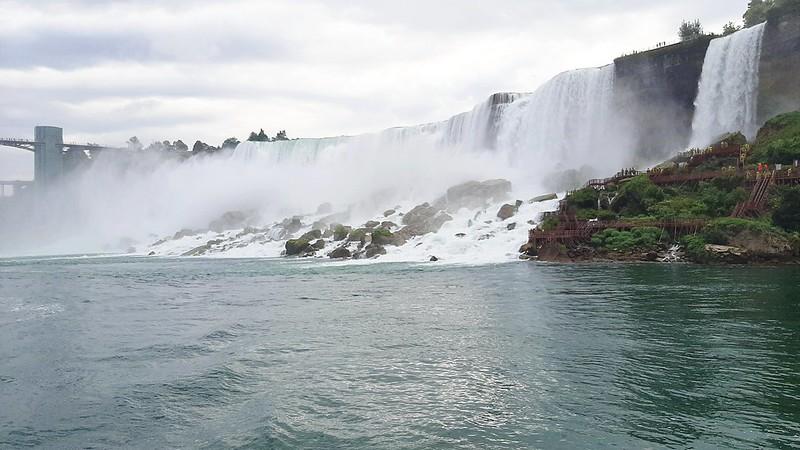 American Falls & Bridal Veil Falls, Maid of the Mist Boat Tour (4)