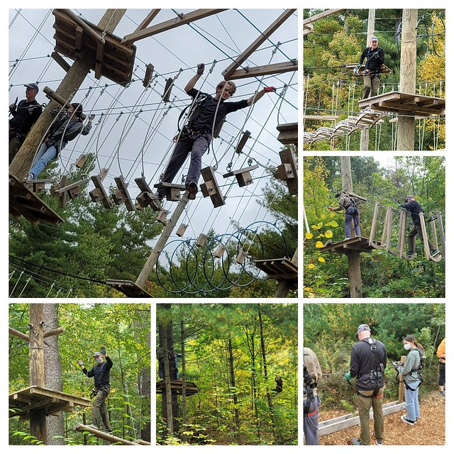 Ropes Course Collage
