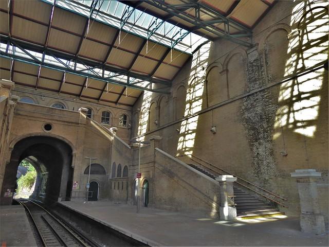 Crystal Palace Railway Station, London