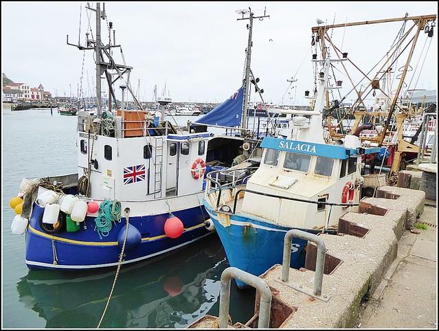 Fishing Boats at Scarborough ..