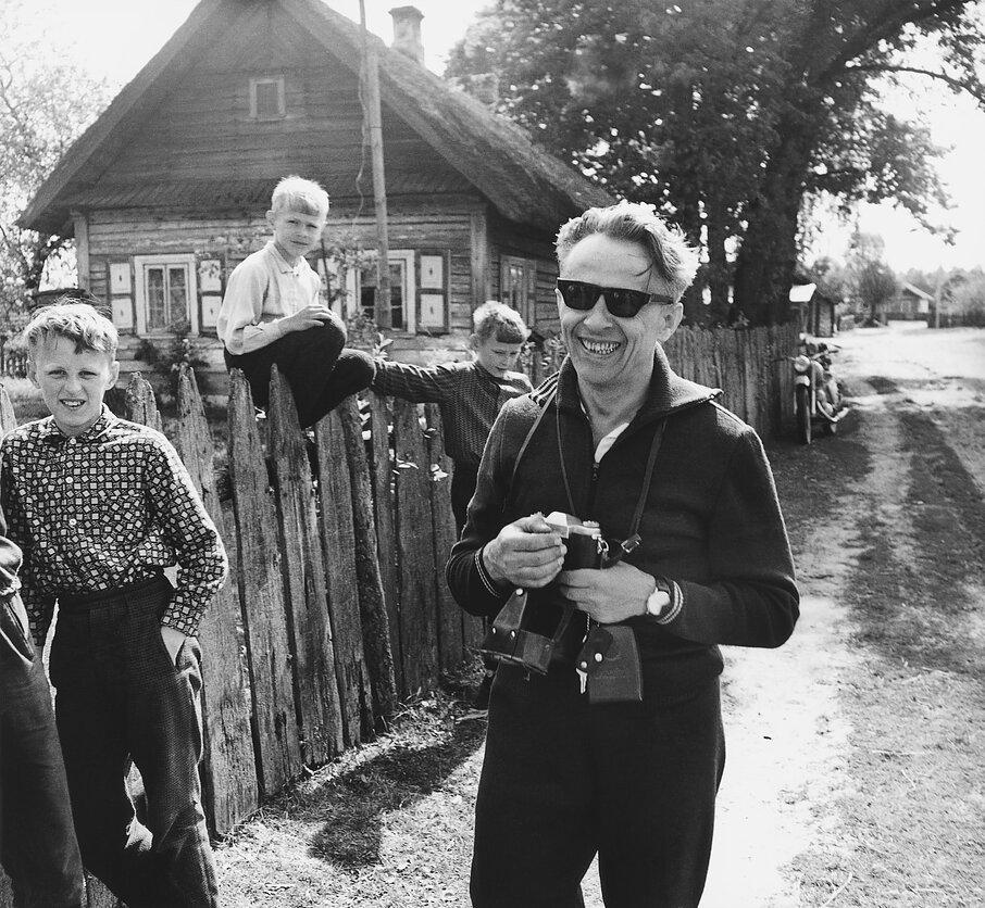 1971. Поездка с ректором. Дзукия