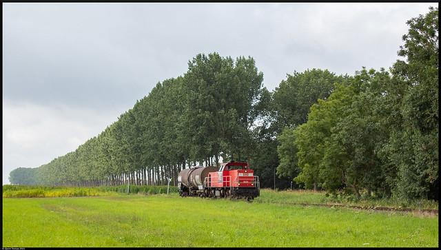 DBC 6520 // Keteltrein // Zandstraat, Kleine Sint Albertdijk // 20 augustus 2021