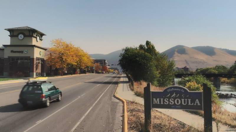 Missoula M mountain