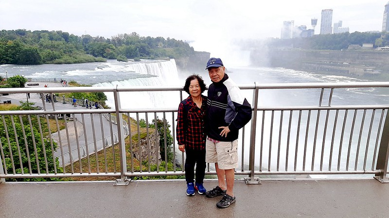 Taken from the Niagara Falls observation tower (2)