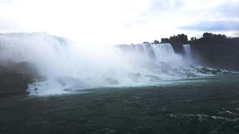 American Falls & Bridal Veil Falls, Maid of the Mist Boat Tour (2)