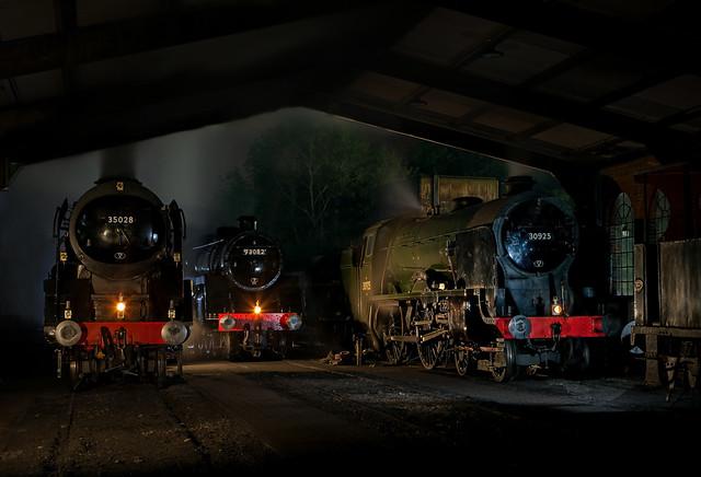 Bluebell Railway Night
