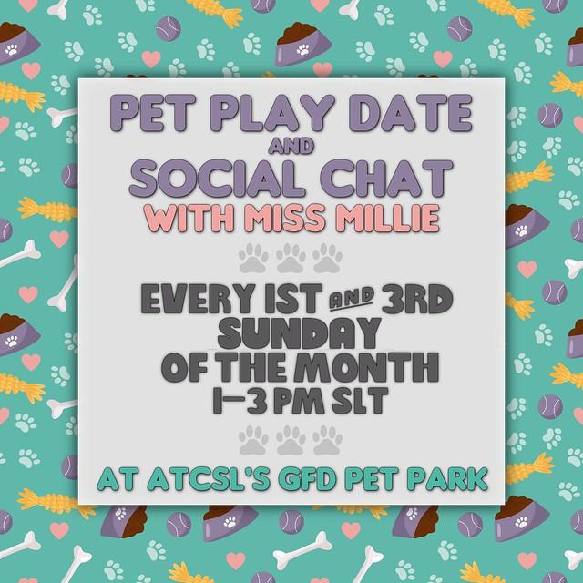 .:ATCSL:. Pet Play Date & Social @ A Town Called Short Leash
