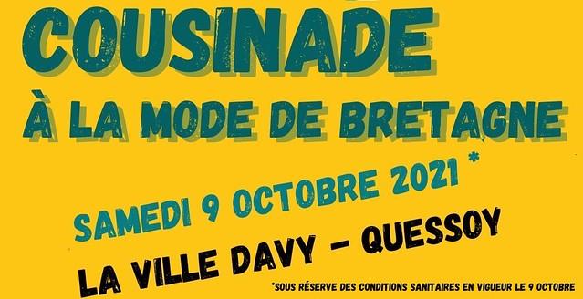 Cousinade à la mode de Bretagne - Quessoy le 9 octobre 2021