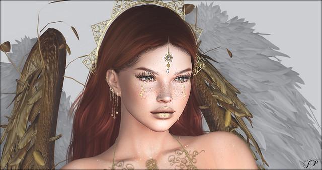 #144 Gold Angel