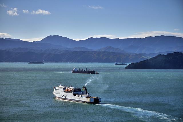 Morning Traffic, Wellington, New Zealand