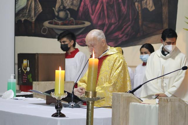 Misa 60 Aniversario Sacerdotal P. Alfonso Horn
